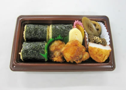 俵むすび弁当(かき醤油御飯)