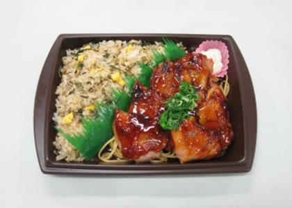 広島菜炒飯&山賊焼き弁当